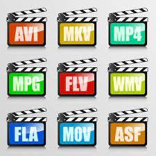 Formatos de videos