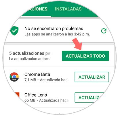 servicios de google play se detuvo